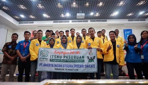 Kunjungan Industri kedua ke PT. Amerta Indah Otsuka Pasuruan (Pocari Sweat)