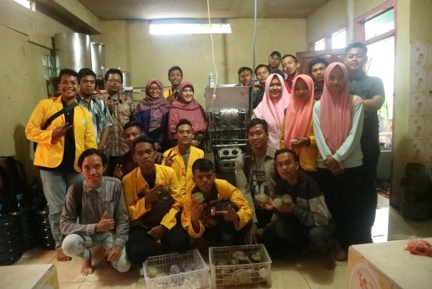 Kunjungan Industri UMKM Sari Apel Nongkojajar Pasuruan